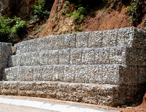 Gabion Basket v Concrete Blocks
